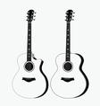 Acoustic guitar vector