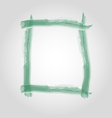 Watercolor frame vector