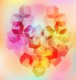 Background heart 1 vector