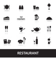Restaurant and pub icons eps10 vector