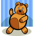 Cartoon cute teddy bear vector