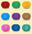 Number bubble vector