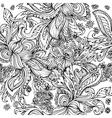 Doodle seamless vector