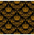 Regal crest pattern vector