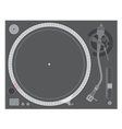 Vinyl turntable vector