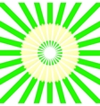 Circle from green pencils vector