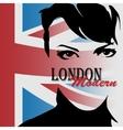 London vintage grunge poster vector