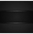 Abstract dark gray background vector
