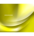 Shiny smooth blurred wave background vector