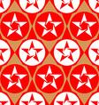 Modern seamless diamond pattern with stars vector