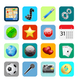 Smart phone icons vector
