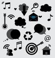 Application icons design vector