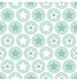 Turquoise seamless pattern on white background vector