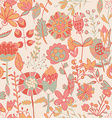 Flower pattern seamless texture vector