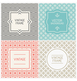Graphic design templates vector