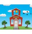 School house vector