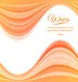 Abstract light waves background vector