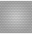 Seamless metal surface background perforated sheet vector