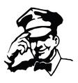 Service man vector