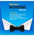 Abstract official paper elements blue background vector
