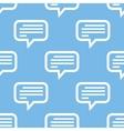 Talk seamless pattern vector