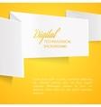 Sheet of paper vector