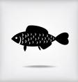 Fish cute vector