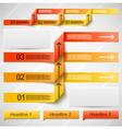 Orange elements of infographics vector