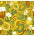 Colorful seamless stpatricks day pattern vector