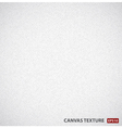 White canvas background texture vector