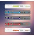 Web site design navigation vector