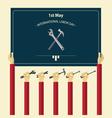 International labor day poster vector