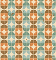 Old tiles seamless background retro style pattern vector