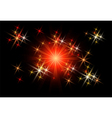 Glowing rays vector