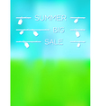 Summer big sale vector