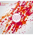 Abstract background with bright blots and splatter vector