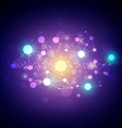 Abstract astronomy star background vector