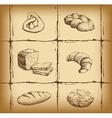 Bakery background design vector