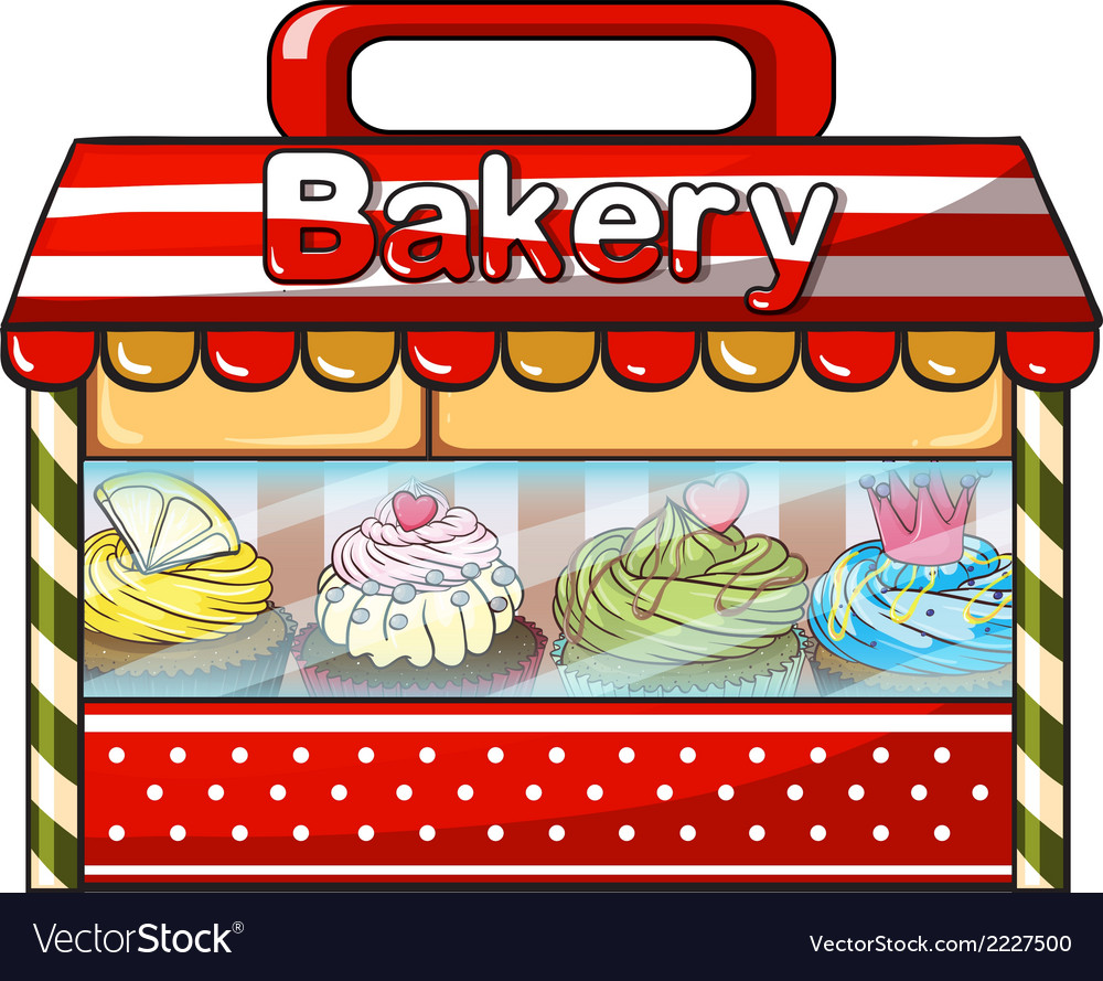 A bakery shop vector | Price: 1 Credit (USD $1)