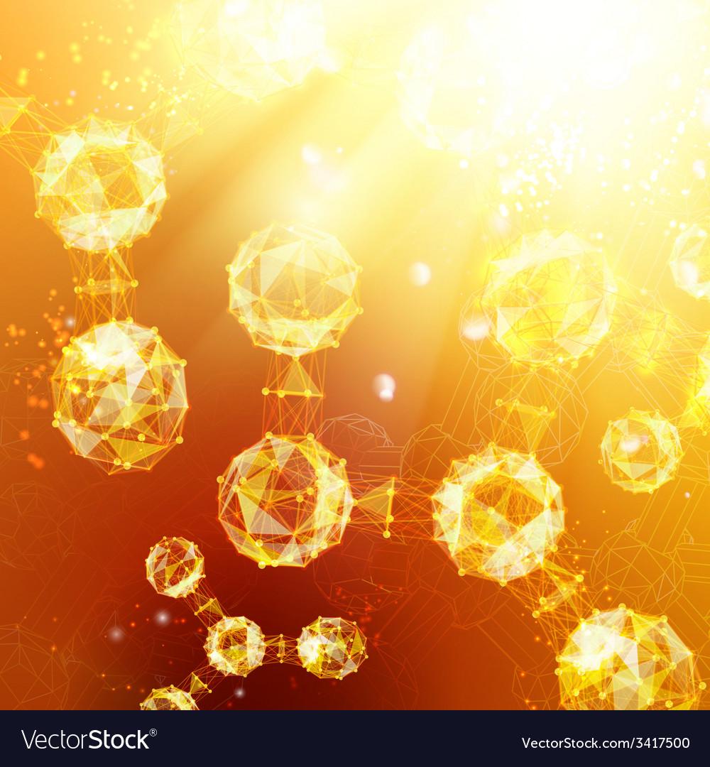 Atom particles vector | Price: 1 Credit (USD $1)