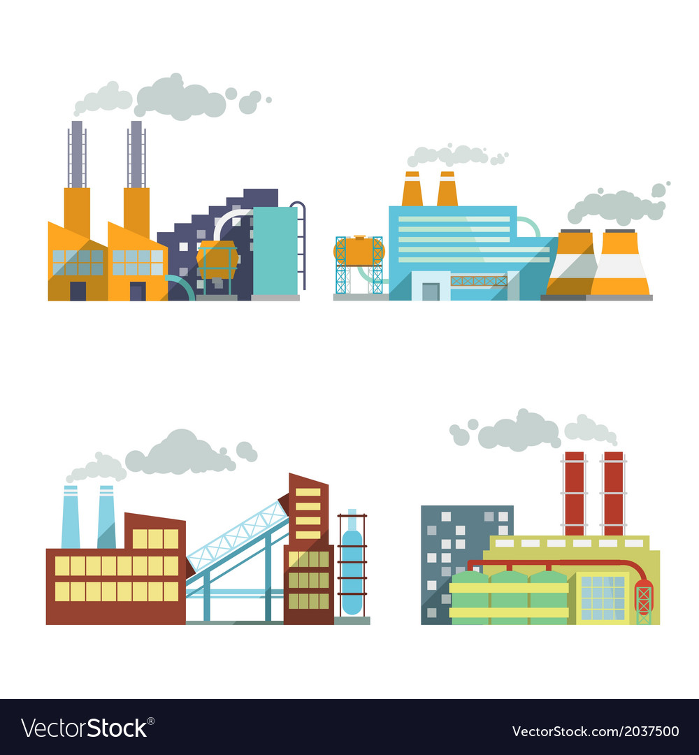 Building industry icons set vector | Price: 1 Credit (USD $1)