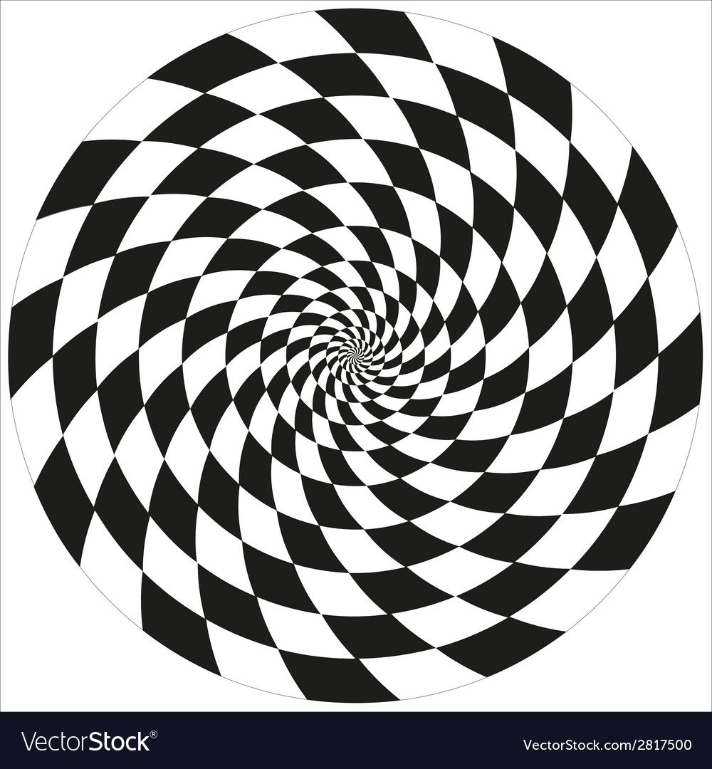 Circle of abstract chess isolated object vector | Price: 1 Credit (USD $1)