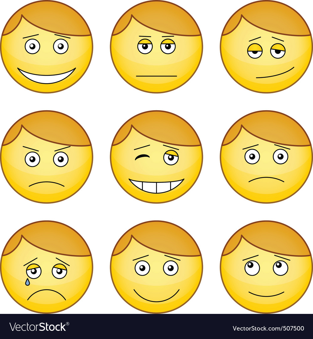 Smilies vector | Price: 1 Credit (USD $1)