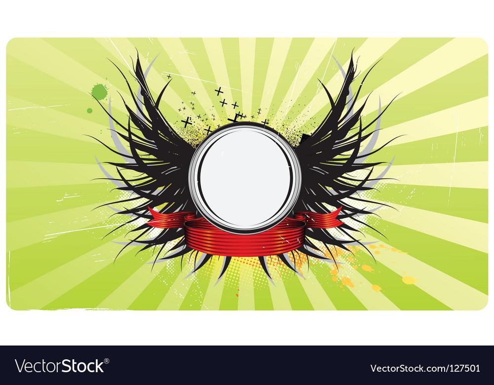 Insignia vector | Price: 1 Credit (USD $1)