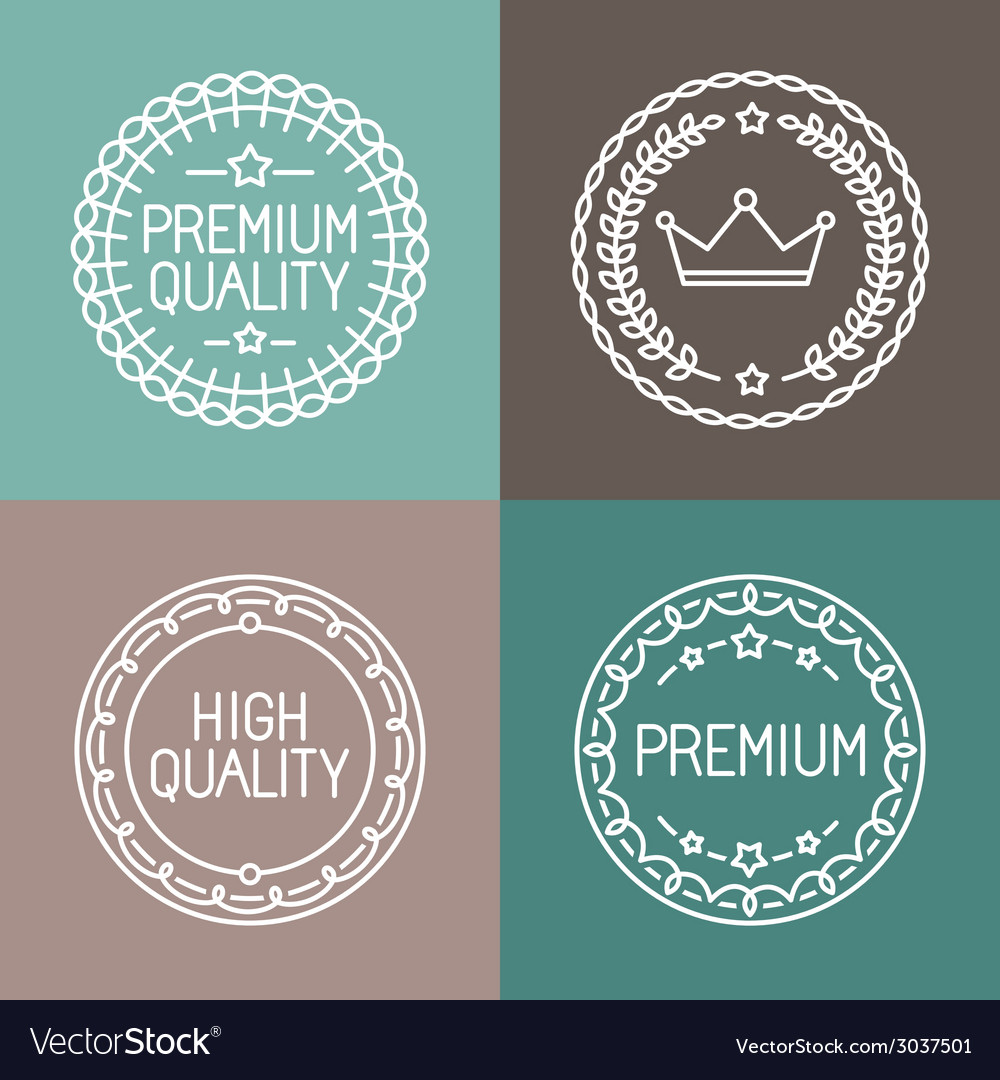 Premium quality emblems vector | Price: 1 Credit (USD $1)