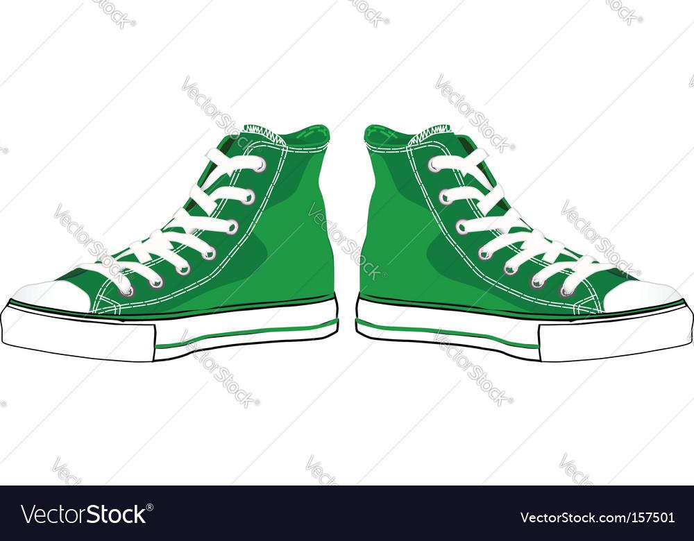 Sneakers vector | Price: 1 Credit (USD $1)