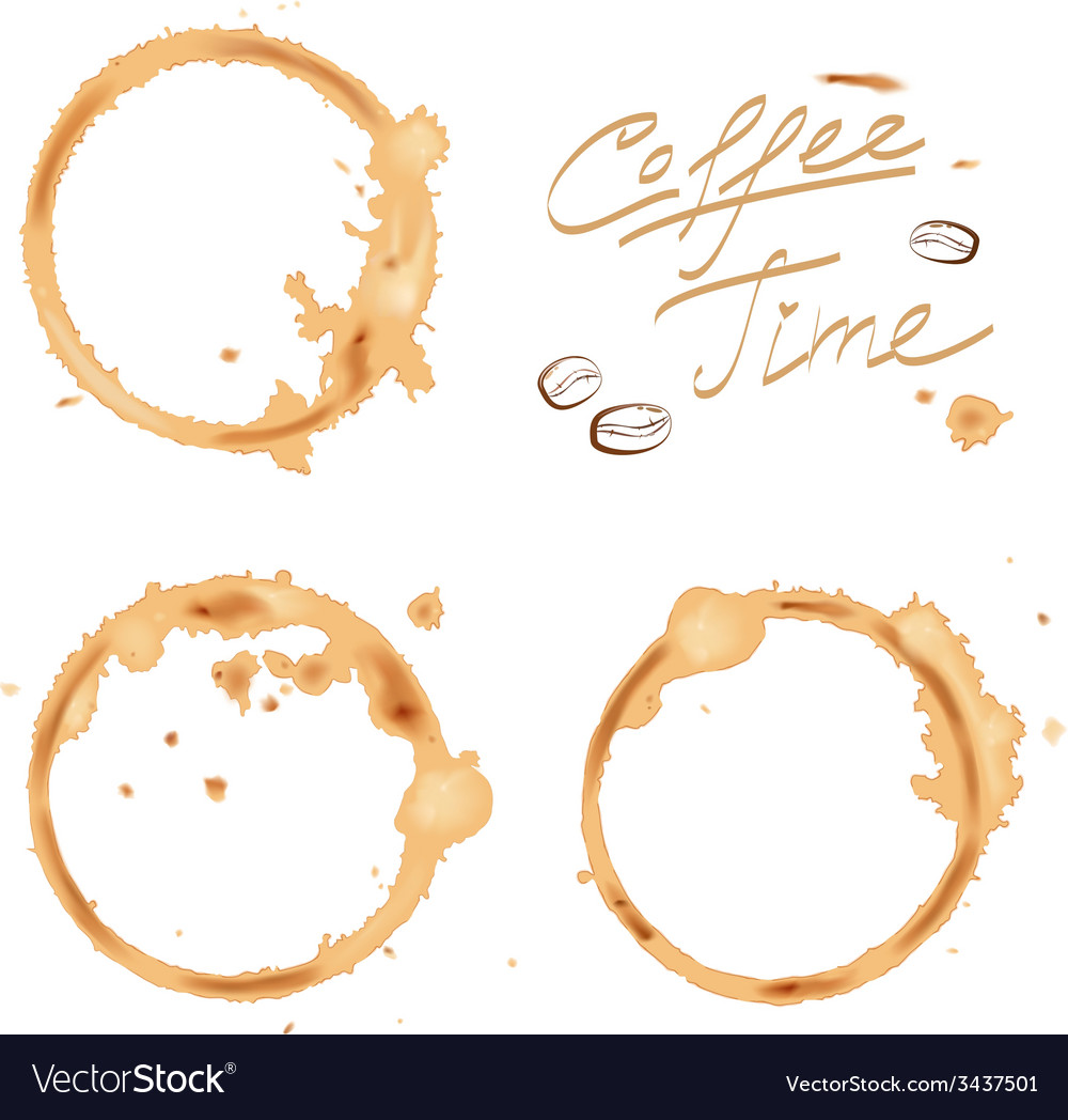 Traces coffee vector | Price: 1 Credit (USD $1)