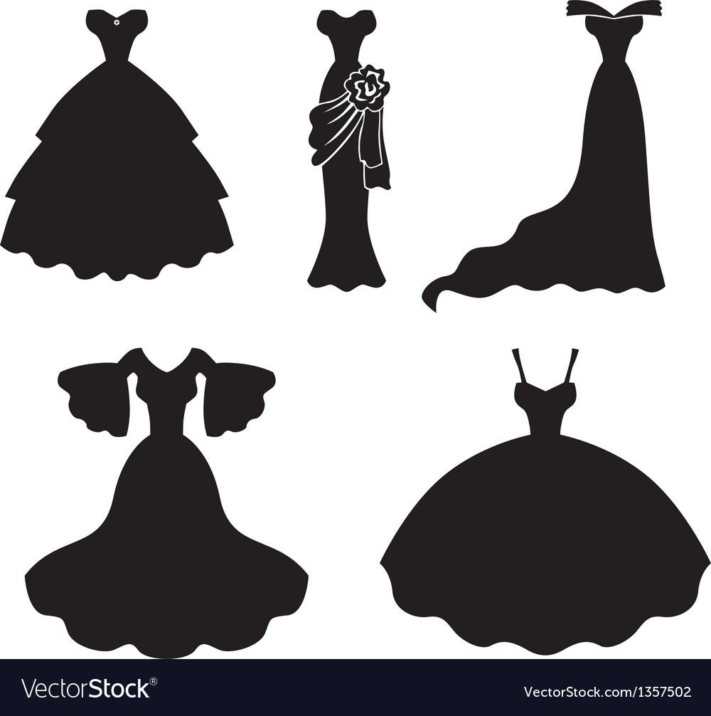Dress set vector | Price: 1 Credit (USD $1)