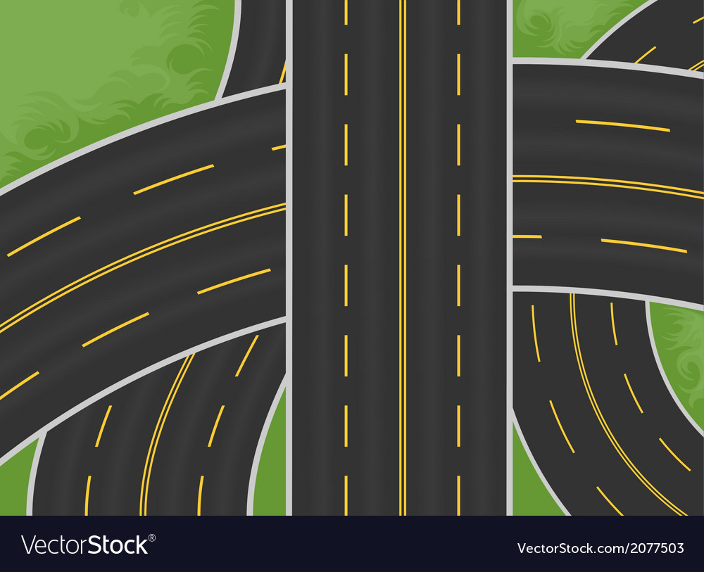 Expressway vector | Price: 1 Credit (USD $1)