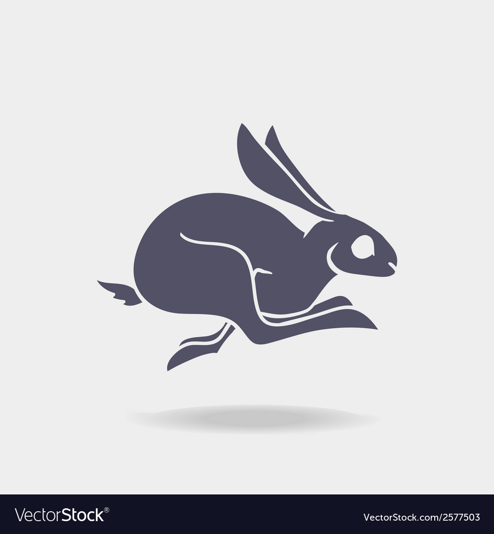 Fst rabbit logo vector | Price: 1 Credit (USD $1)